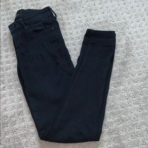 The Castings mid rise super skinny in black SZ 24